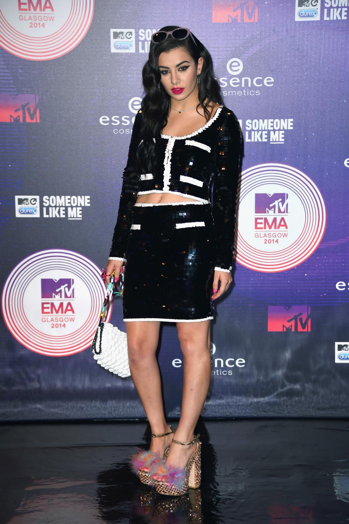 Charli XCX la MTV EMA 2014