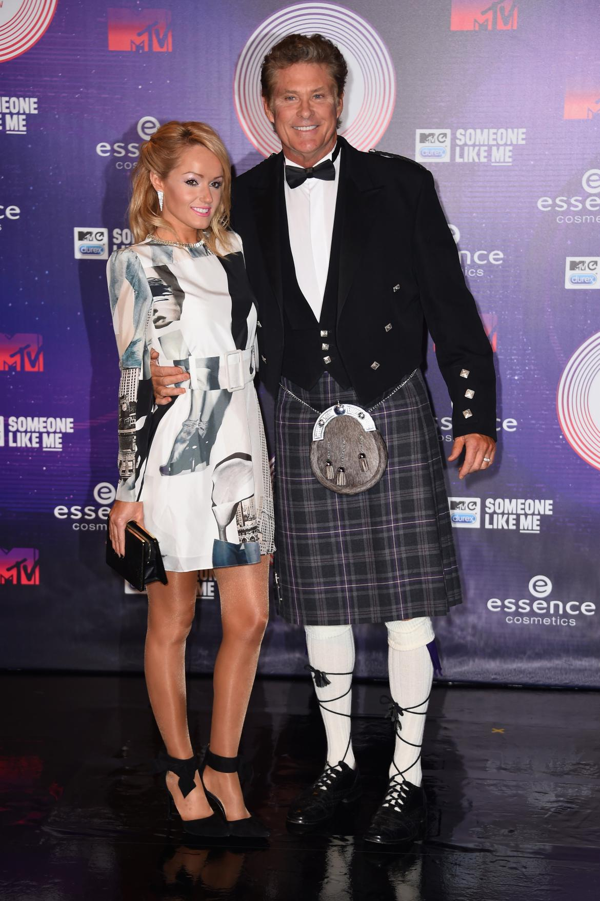 David Hasselhoff la MTV EMA 2014