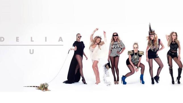 delia u videoclip