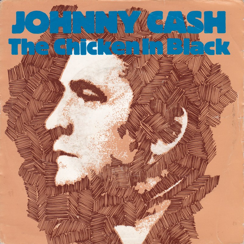 johnny cash the chicken in black