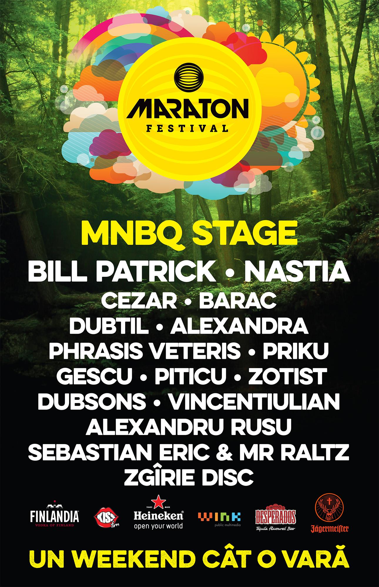 maraton 2014 line-up